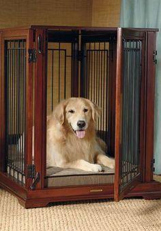 Converts from a crate to a gate to a stand-alone bed.