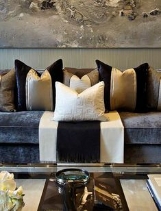 My little itch fabric in 2019 living room grey, living room pillows, home d Living Room Pillows, Living Room Grey, Home Living Room, Living Room Designs, Living Room Decor, Home Interior, Interior Design, Living Room Inspiration, Room Colors
