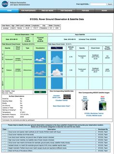 nasa cloud chart printable - photo #21