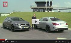 Mercedes A45 AMG vs CLA 45 AMG 2014