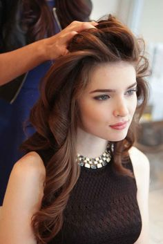 Styles Created With Hot Rollers