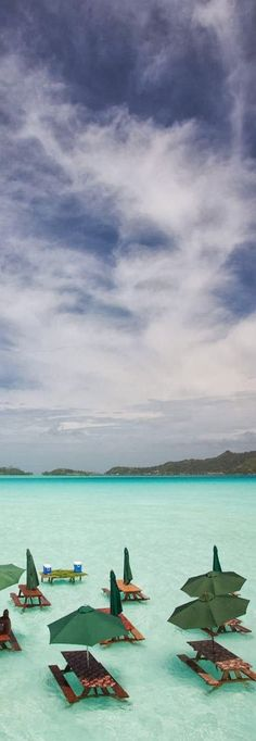 Amazing Setting at St. Regis, Bora Bora