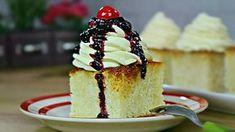 Savarine la tava - savarine de casa Romanian Desserts, No Cook Desserts, Taste Of Home, Food Cakes, Cheesecakes, Vanilla Cake, Cake Recipes, Sweet Treats, Sweets