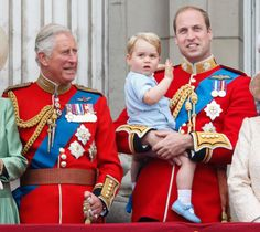 """Prince William: """"Someday, son, this will all be yours."""" George: ¯\_(ツ)_/¯   - MarieClaire.com"""