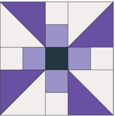 Propeller Block: FREE Patchwork Quilt Block Pattern - The Quilting Company Barn Quilt Patterns, Pattern Blocks, Patchwork Patterns, Modern Quilt Blocks, Patch Aplique, Quilt Sizes, Barn Quilts, Small Quilts, Quilting Tutorials
