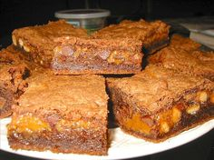 The Best Caramel Brownies Recipe