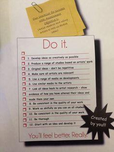 AO1 - success criteria