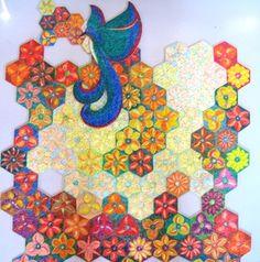 """Puzzle """"O Vôo do Beija-Flor"""" - Posição do beija-flor fora da base II - Por Antônia Sobral"""