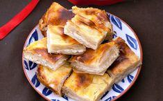 πιταΓιαουρτιού1 Filo Pastry Pie, Lebanese Desserts, No Dairy Recipes, Spanakopita, Sweet Desserts, Custard, Apple Pie, Yogurt, French Toast