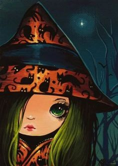 Art: Sweet Little Witch by Artist Nico Niemi