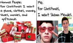I literally told my mom i wanted shawn for christmas XD XD i made this edit!!!! @ShawnMendez hope u liked it:p