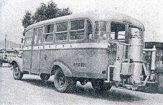 写真:木炭バス