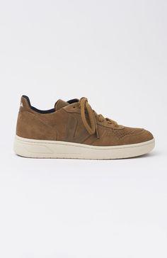V-10 Brown Suede Rock Sneakers