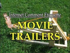 "Internet Comment Etiquette: ""Movie Trailers"" https://www.youtube.com/watch?v=AcGbJRcJ7Rc #timBeta"