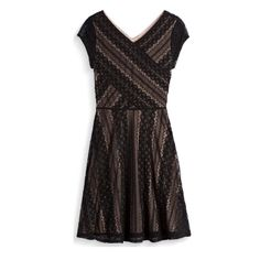I don't NEED any new winter dresses right now, but I'm always open to ones that might be keepers.  The lace on this one is great!