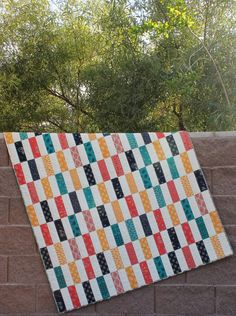 Simple Strips Finished Quilt