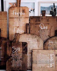 11 Creative Wedding Table Plan + Seating Ideas | Love My Dress® UK Wedding Blog + Wedding Directory
