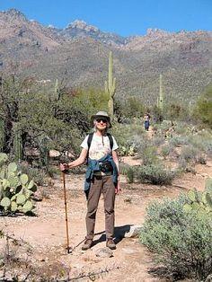Hiking in Sabino Canyon, Tucson, AZ