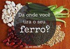 Alimentos Ricos em Ferro: Top 12 Fontes de Origem Vegetal