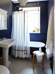 132 Best Blue And White Bathroom Ideas Images On Pinterest Tiles