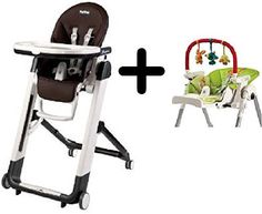 Peg Perego Siesta Highchair Cacaco  Peg Perego High Chair Play Bar *** You can get additional details at the image link-affiliate link.