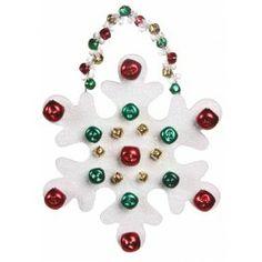 Nicole™ Crafts Bell Snowflake Hanger