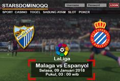 Prediksi Judi Bola Malaga vs Espanyol LaLiga 09 Januari 2018
