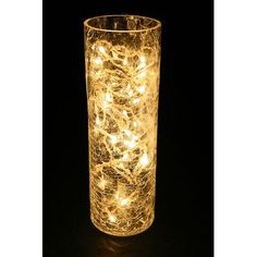 Reading Nook Buy Crack Glass Vase With Lights Christmas