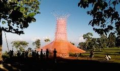 The Warka Water tower literally pulls clean drinking water straight from thin air. First debuted in rural Ethiopia, and conceived as a way to help communities in the area that lack access to safe drinking water, the innovative design recently took home the World Design Impact Prize in Taipei. Each to