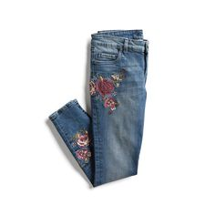 Love these jeans.  Hope the waist is not too low and they are skinny/ have a little stretch...