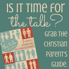 Should you talk to your 8-year-old about sexual intercourse? How about your 6 or 7 year old? I recently wrote a parent-child Bible study called The Talk: 7 Lessons to Introduce Your Child to Biblical Sexuality. The study is geared for children ages 6-10 years old. After about 3,000 people downloaded it the first weekend …