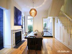 zen formal dining room