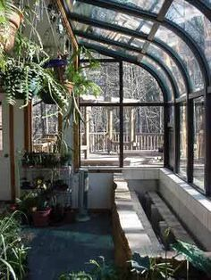 greenhouse glass addition to house - Google Search