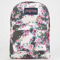 floral jansport backpacks