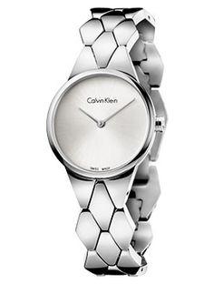 Boutique dos Relógios | Produtos | Relógios | calvin klein | CK SNAKE PO LY SST PO/BR B-LET SIL DIAL