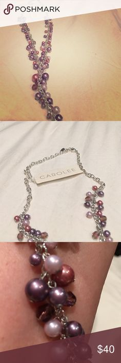 CAROLEE Vintage Silver Faux Pearl Necklace NWT CAROLEE Vintage Silver Faux Pearl Necklace NWT Carolee Jewelry Necklaces