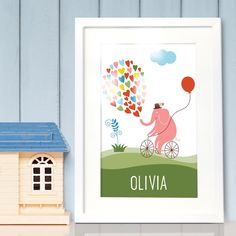 New product Personalised Fram... available here http://emmazing.uk/products/personalised-framed-poster-pink-elephant?utm_campaign=social_autopilot&utm_source=pin&utm_medium=pin NOW. #homedecor #decor #personalisedgifts #personalised
