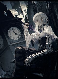 Anime, manga, and video game fan-art artworks from Pixiv (ピクシブ) — a Japanese online community for artists. Fantasy Girl, Anime Art Fantasy, 3d Fantasy, Fantasy Kunst, Manga Anime, Fanarts Anime, Manga Art, Anime Characters, Dark Anime
