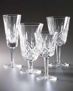 Lismore Stemware by Waterford Crystal at Neiman Marcus.