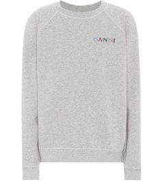 Sweatshirt Lott Isoli Aus Baumwolle - Ganni | mytheresa