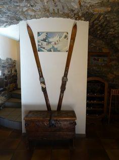 spatule de ski,porte manteau,recuperation spatule de ski