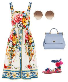 """Dolce & Gabbana"" by howtotalkaboutfashion on Polyvore featuring Mode, Dolce&Gabbana und Chloé Shoe Bag, Polyvore, Stuff To Buy, Shopping, Collection, Shoes, Design, Women, Fashion"