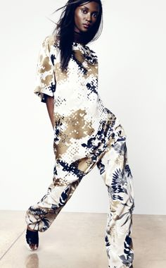 The Ad Campaign: Riley Montana for Nordstrom : Jumpsuit : neutrals : white