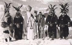 --link goes to many vintage [re: bizarre] Krampus images