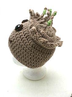 Crochet Groot Hat PATTERN ONLY