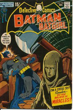 Detective Comics presents Batman & Batgirl - Pencil & Inks by Neal Adams Batman And Batgirl, I Am Batman, Superman, Batman Robin, Dc Comics, Batman Comics, Batman Comic Books, Comic Books Art, Nostalgia