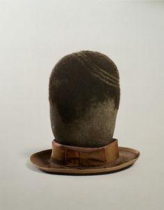 David Hammons                          One Stone Head , 1997