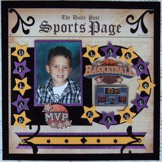 """ Lakers Fan "" - Scrapbook.com"