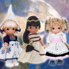 "Precious Moments Kyle Ireland Boy Doll 9/"" Children of the World"