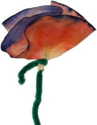 Coffee Filter Flower Craft- for Mother's Day and our Flower Day